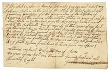 June 8, 1778 Rev War Enlistment for the Preservation of the liberties of America