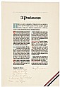 Outstanding and Superb Large Historic Proclamation Broadside Signed HARRY TRUMAN
