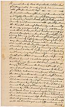 1788 Rev War Period Document Including Brigadier-General John Frost of Kittery