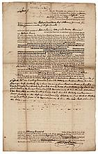 1781 ROBERT TREAT PAINE Declaration Signer Confiscates Tory Turncoat's Land