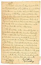 December 31, 1776 Oliver Ellsworth Signed Connecticut Recruitment Bond