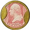 Encased Postage Stamps, 3¢, AYER'S SARSAPARILLA. Small AYER'S Type