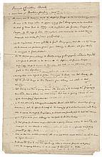 c 1781 Handwritten Eulogy, American Revolutionary War Hessian Mercenary Deserter