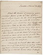 THOMAS PAINE Autograph Letter Signed Author of