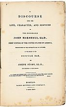 1835 First Edition On Chief Justice John Marshall, by Joseph Story, Boston