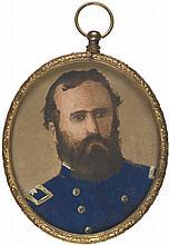 Civil War, Gen. Carr's Oil Portrait, 1868