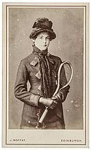 Three Late Victorian Tennis Photos