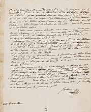 Historic BARON FRIEDRICH VON STEUBEN Autograph Letter to ALEXANDER HAMILTON