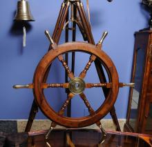 Collectors Edtion Ship Wheel-30 inches