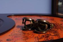 Collectors Edtion Folding Binocular in wood box