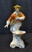 KPM PORCELAIN FIGURE OF MAN WITH GRAPES