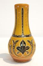 TRIPLE LAYERED CASED GLASS BOHEMIAN VASE