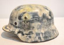 RECONDITIONED GERMAN HELMET