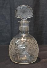ETCHED BACCARAT DECANTER - 5
