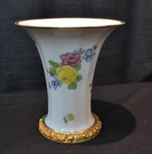 ROSENTHAL VASE WITH FLOWERS - 7
