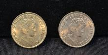 1912 & 1913 DUTCH GOLD COINS