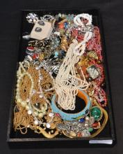 COSTUME BEADS , CUFFLINKS , PINS & BRACELETS