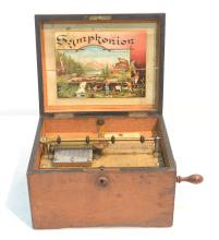 GERMAN SYMPHONION MUSIC BOX ca. 1889 WITH