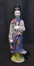CHINESE PORCELAIN FIGURE OF WOMAN - 11