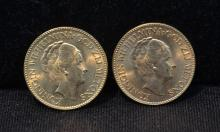 1926 & 1927 DUTCH GOLD COINS