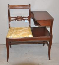 MAHOGANY TELEPHONE TABLE - 28