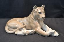 ROYAL COPENHAGEN RECLINING LION