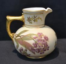 ROYAL WORCESTER CREAMER DATED 1892 - 5