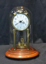 GERMAN ANNIVERSARY CLOCK WITH DOME - 8