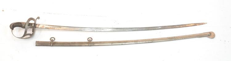 1900 GERMAN SWORD WITH BASKET GUARD - 39