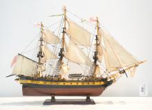 MODEL SHIP ON STAND - 29