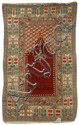 ORIENTAL RUG: LADIK PRAYER 3'7