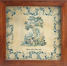 FRAMED NEEDLEWORK Wrought by