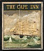 TAVERN SIGN FROM CAPE COD
