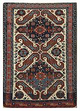 ORIENTAL RUG: CLOUD BAND KAZAK 3'3