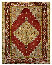ORIENTAL RUG: TURKISH 3'8