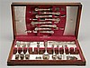 CASED SET OF STERLING SILVER FLATWARE BY GORHAM MFG. CO. In the