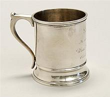 AMERICAN SILVER CHILD'S CUP BY SHREVE, STADWOOD & CO. OF BOSTON Marked