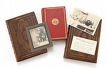 INTERESTING LOT OF ITEMS PERTAINING TO MARK TWAIN Consists of a rare photo titled