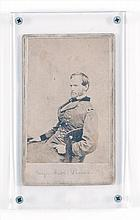 CARTE DE VISITE Depicts a seated Major General Sherman. Photographed by E. & H.P. Anthony, New York. 4