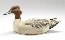 CONTEMPORARY DECORATIVE PINTAIL DRAKE DECOY By Steve A. Weaver of Cape Cod, Massachusetts.