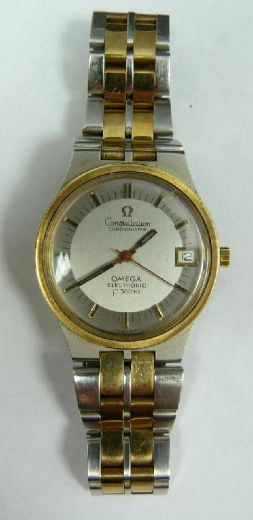 OMEGA CONSTELLATION STAINLESS STELL WATCH