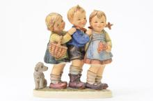 Antique German Porcelain Children Figurine