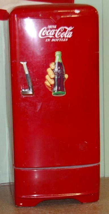 Vintage Coco Cola Refrigerator