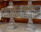 Pr. Victorian Glass Confections Jars