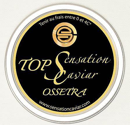 BOITE de 200 g de CAVIAR OSSETRA SENSATION CAVIAR