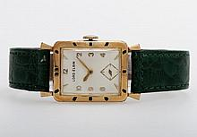 LORD ELGIN Armbanduhr, 1940/50er Jahre. Goldplattiert (10K goldfilled).