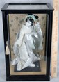 L49 VINTAGE TRADITIONAL JAPANESE GEISHA BRIDE DOLL WITH CASE