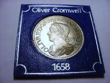 OLIVER CROMWELL MEDAL