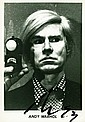 WARHOL, ANDY. Photograph Signed - (SP)