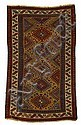 Kazak long rug, southwest caucasus, circa last quarter 19th century,